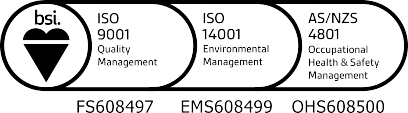 Highest standards ISO Accreditation